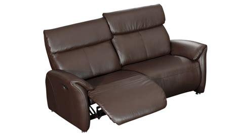 canapé deux places relax canapé relax 2 places tout cuir ohio mobilier moss