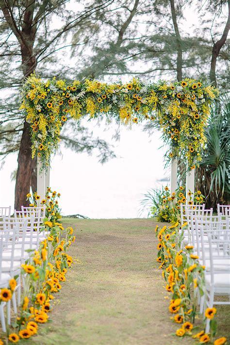 yellow wedding flowers wedding ideas  colour chwv