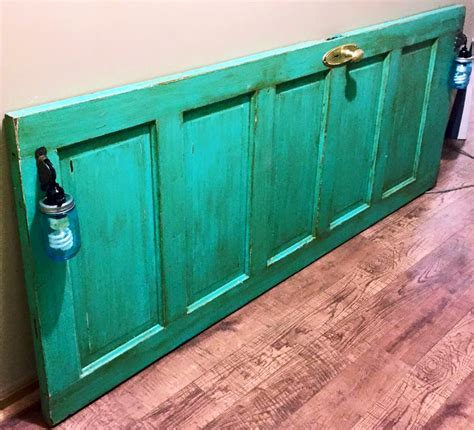 Patina Green Door Glazed with Java   General Finishes