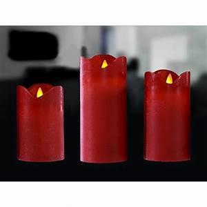 Led Echtwachskerze Mit Timer : led echtwachs kerze 12 5x7 5cm rot flammenlose kerzen mit ~ Watch28wear.com Haus und Dekorationen