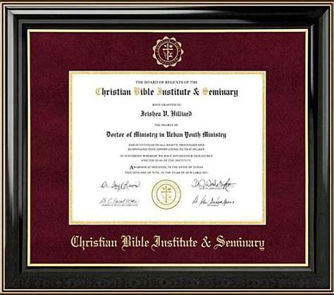 christian bible institute seminary degrees