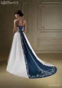 navy wedding dress ioffer want ad looking for navy blue bridal wedding dress size 16 18