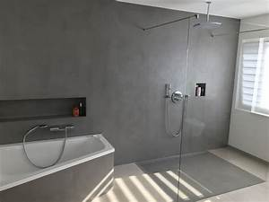 Fugenloses Bad Kosten : fugenloses bad dusche realisiert mit carameo beton cir homesweethome fugenlos ~ Sanjose-hotels-ca.com Haus und Dekorationen