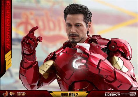 Hot Toys Debuts Diecast Series Iron Man Mark 4 Figure For