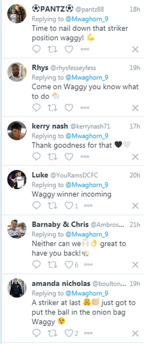'Winner incoming' - Derby County fans love Martyn Waghorn ...