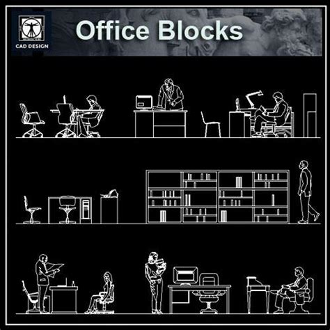 office desk elevation cad block office blocks and plans cad design free cad blocks