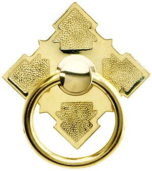 solid brass diamond ring pull  brass  nickel finishes house  antique hardware