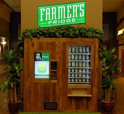 Farmer's Fridge Vending Machine