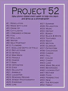 Fun Idea! Project 52: A new photo theme every week to help ...