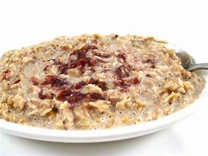 Heart Healthy, Peanut Butter and Jelly Oatmeal Recipe by ...