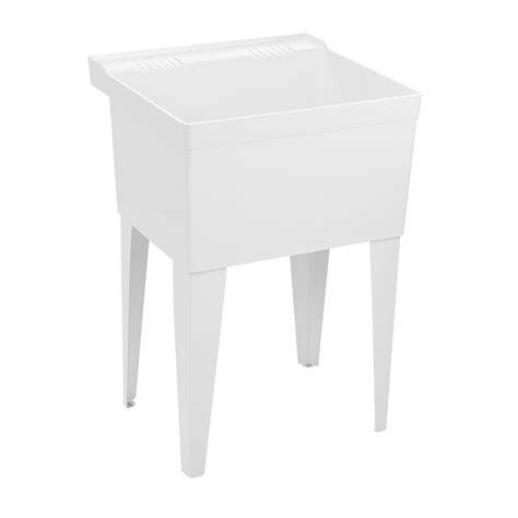 fiat fl 1 sink fl1 molded stone laundry tub with legs laundry sink