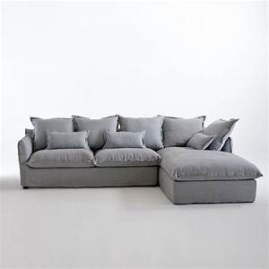 Canapé D Angle Convertible Confortable : canap angle convert lin froiss bultex odna canap s pinterest canap angle canap ~ Melissatoandfro.com Idées de Décoration