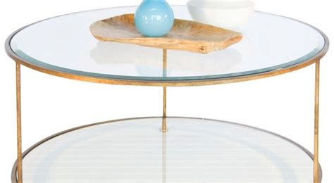 Affiliate links are used for your shopping convenience. ethan allen? Coffee Table Personable White Coffee Table Gold Coast And Gold ...   Round gold ...