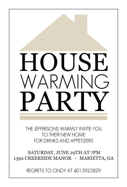 invitation cards templates for housewarming free housewarming invitations printable