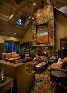 photo page hgtv With warm and inviting rustic living room ideas