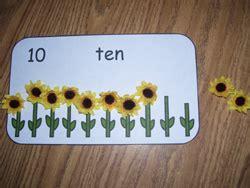 math ideas  sunflower theme