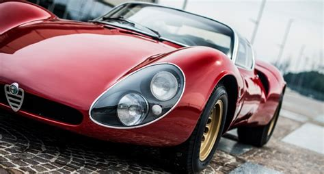 alfa romeo stradale is the alfa romeo tipo 33 stradale the sexiest car of all