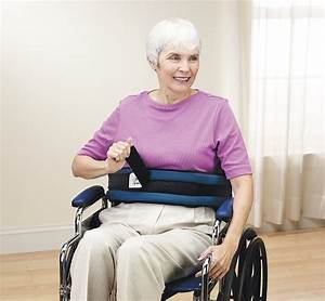 Front-release Padded Wheelchair Belt