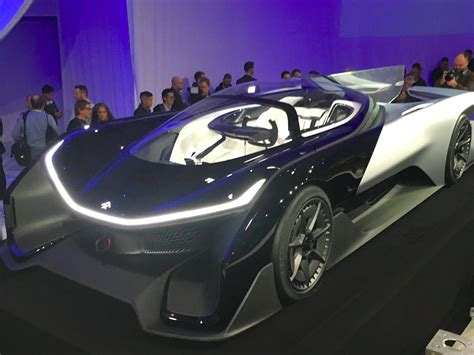 Future Electric Cars by Faraday Future Executive Responds To Critics Business