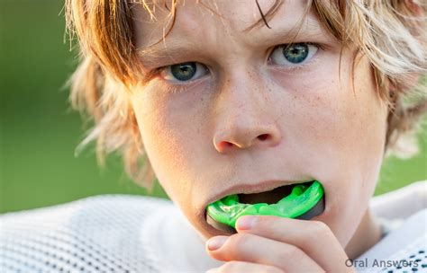 type  sports mouth guard     child