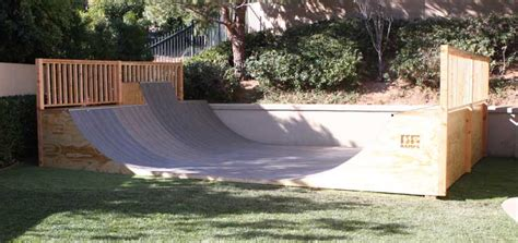 Building A Halfpipe In Your Backyard by Custom Skate R Installation Days Oc Rs