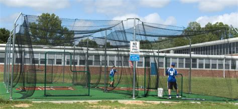 Deck Batting Cages Baton by Cost Of Batting Cage Turf Options On Deck Sports