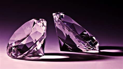 Wonderful Purple Diamonds Hd Wallpaper Download Hd