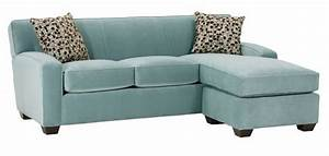 Small fabric sleeper sectional sofa with reversible chaise for Small sectional sofas with chaise lounge
