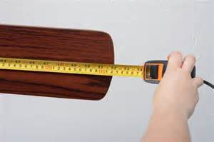 Ceiling Fan Measurement by How To Measure Ceiling Fans With Pictures Ehow