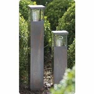 Lampadaire Exterieur Design : lampadaire exterieur design bronze chrome nickel e27 40cm myplanetled ~ Teatrodelosmanantiales.com Idées de Décoration