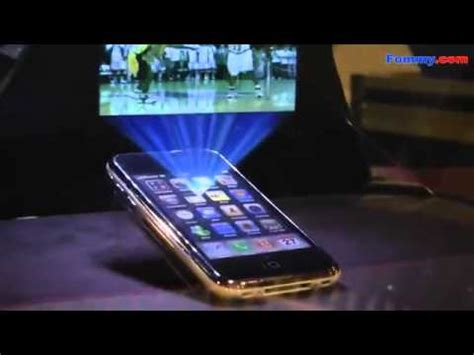iphone 7 projector 3d hologram projection iphone 3g ces 2011 in hd
