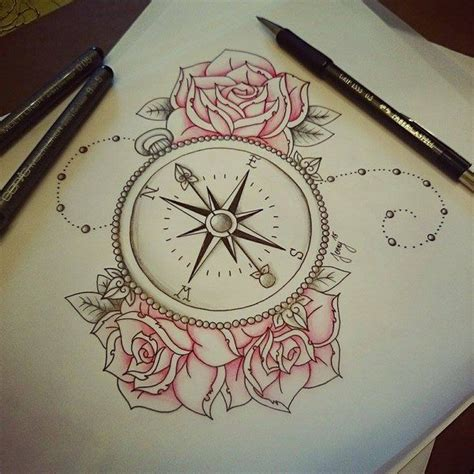 compass tattoos ideas  meanings