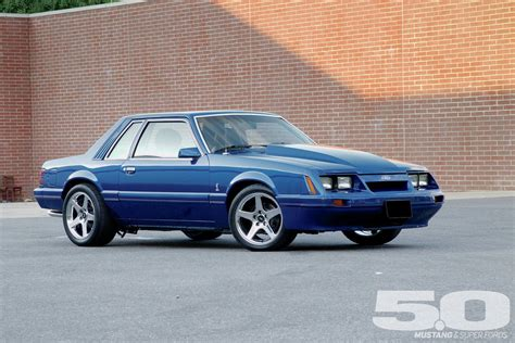 1986 Ford Mustang Front Side View Photo 63661032 1986