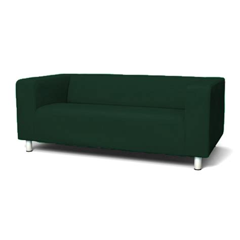 green cover slipcover to fit ikea klippan 2 or 4 seater
