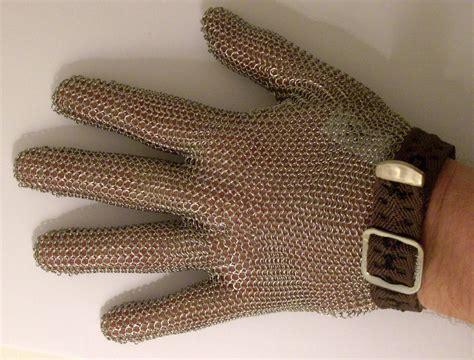 gants cotte de mailles