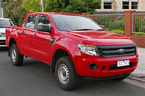 ford ranger 4 door ford ranger t6