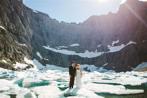 Chris And Becky Glacier National Park Elopement Photog
