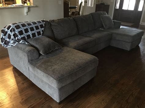 loric sectional  ashley  decided   left