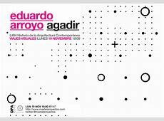 19NOV 1600 Eduardo Arroyo AGADIR MPAA Máster en