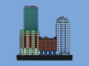 impresión 3d de ciudades en miniatura impresoras 3d