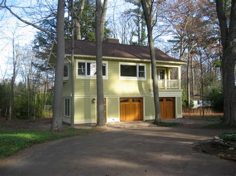 northern michigan carriage house traditional garage