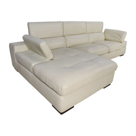 l shaped leather sofa 69 off l shaped cream leather sectional sofa sofas