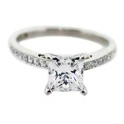 princess cut wedding rings princess cut engagement rings with white gold ipunya