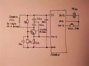 Metal Detector Drawing At Getdrawings