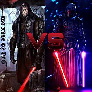 Darth Bane VS Darth Revan | Star Wars Amino