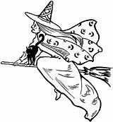 Witch Flying Clipart Clip Fairy Halloween Graphics Wicked Witches Drawings Hag Cliparts Victorian Thegraphicsfairy Silhouette Library Graphic Moon Tattoos Classic sketch template