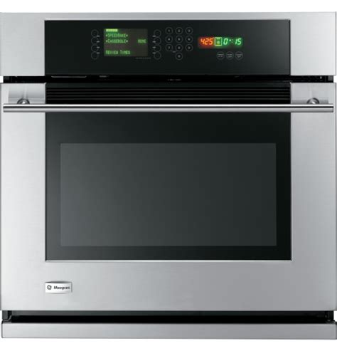 ge monogram  built  single wall oven  trivection technology  major appliances llc
