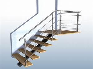 Geländer Für Treppe : gel nder treppe mit podest und abschluss mit edelstahl handlauf f llung 4 streben ~ Markanthonyermac.com Haus und Dekorationen