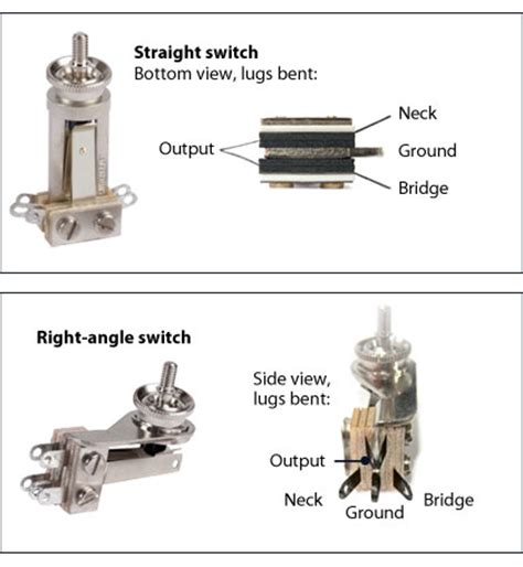 Switchcraft Way Toggle Switch Stewmac