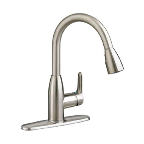 stainless steel faucet kitchen pfister pasadena single handle pull sprayer kitchen